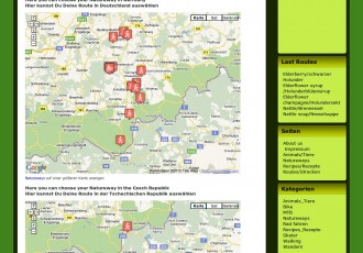 Natureways.org bietet Routen für natürlichen Tourismus im Erzgebirge und in Tschechien