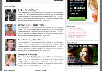 Bildschirmfoto des Magazine Theme für Genesis von StudioPress