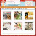 Bildschirmfoto des Bee Crafty Theme für Genesis von StudioPress