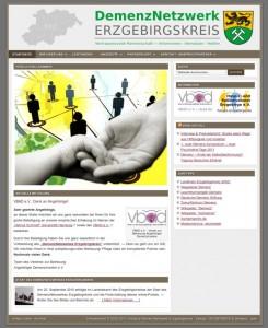 Bildschirmfoto: demenznetzwerk-erzgebirgskreis.de