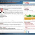 Bildschirmfoto: Relaunch der Webseite der CDU-Fraktion Erzgebirgskreis