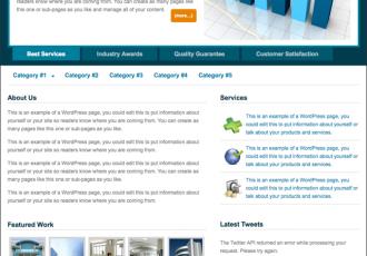 Venture Theme von StudioPress – Firmen-Portfolio-Template
