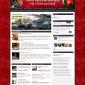Bildschirmfoto: Mein-Weihnachtsland.de für die Saison 2010.