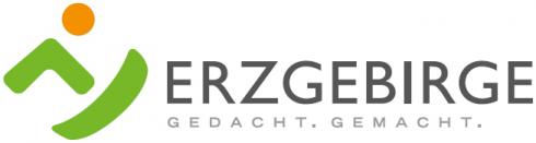 Werbemarke des Regionalmanagements und Tourismusverbandes: Erzgebirge - Gedacht. Gemacht.