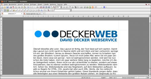 Textmaker - Textverarbeitung von Softmaker Office