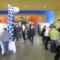 Blick in die Orangerie der TU Chemnitz - Chemnitzer Linuxtage 2011