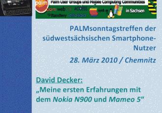 Vortrag zu Maemo 5 und Nokia N900