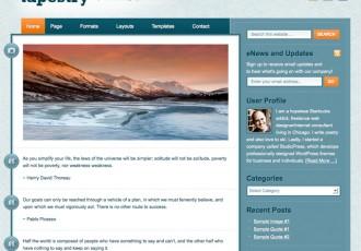 Tapestry Theme von StudioPress – Tumblr für WordPress mit Genesis