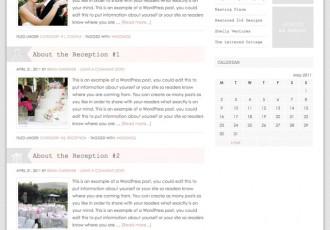 Bildschirmfoto des Blissful Theme für Genesis von StudioPress