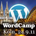 WordCamp Deutschland 2011 in Köln
