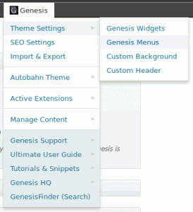Genesis Toolbar Extras