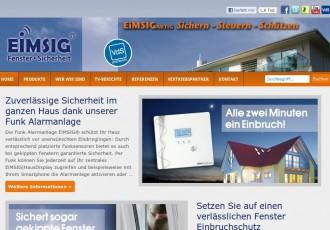 EiMSIG|HausDisplay - Funk-Alarmanlagen -- Bildschirmfoto: www.alarmanlage-eimsig.de