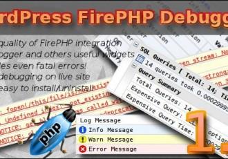 Hilfreiches Debug- und Entwickler-Plugin: WordPress FirePHP Debugger