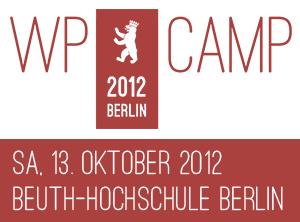 WP Camp 2012 in Berlin - mit DECKERWEB vor Ort :)